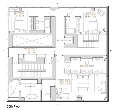 one madison floor plans is this the most impressive penthouse apartment ever sold