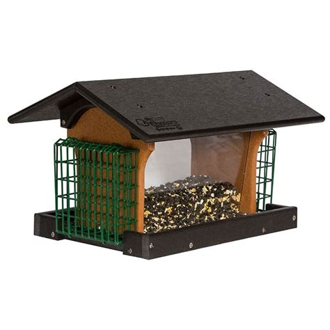 deluxe bird feeder amish workshops