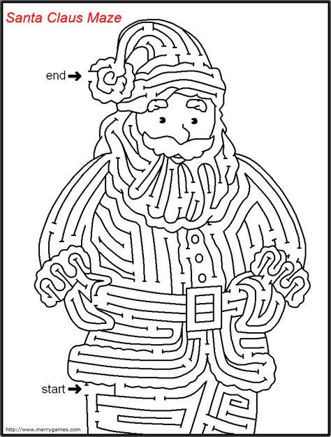 printable holiday mazes free free printable christmas mazes merry games color