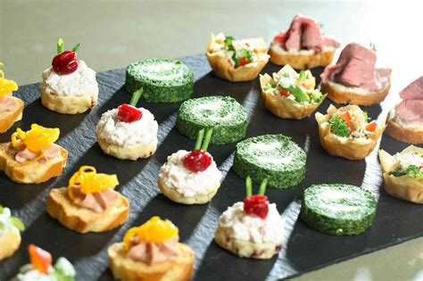 canape s amanda guest canapes are a feast for the eye guest dining
