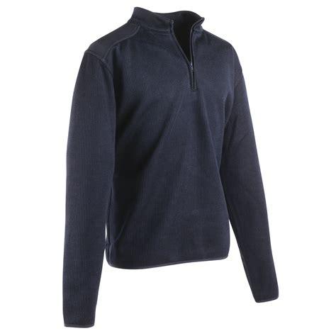 Flece Tebal Sweater Jaket Model 15 flying cross fleece lined quarter zip commando sweater