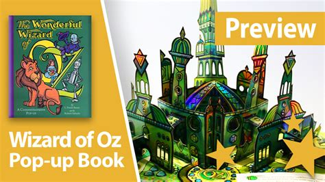 pictures of pop up books preview wizard of oz pop up book version best