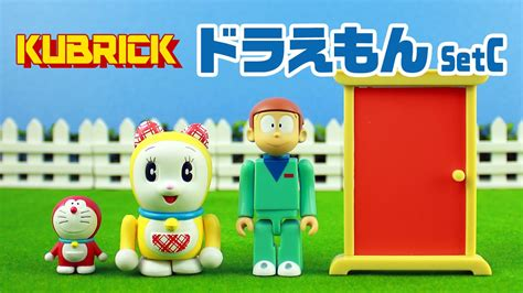 doraemon anime youtube kubrick doraemon set c toys anime youtube