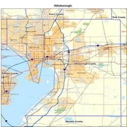 map of hillsborough county florida hillsborough county fl map florida map map of florida