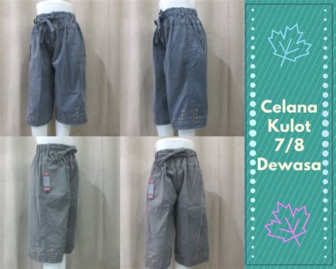 Celana Jogger Katun Murah Minimal Order 3pcs grosir celana jogger panjang murah 22ribu