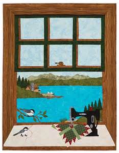 quilting at the lake quilt pattern keepsake quilting