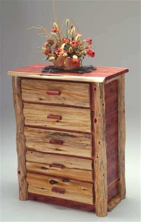 red cedar bedroom furniture red cedar chest of drawers and logs on pinterest