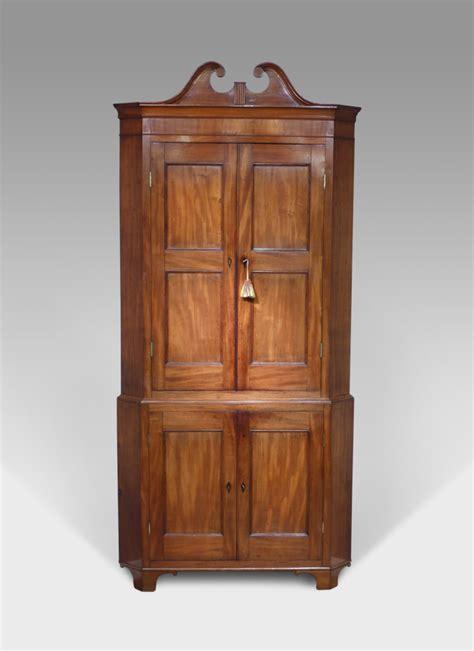 antique floor standing corner cupboard tall corner
