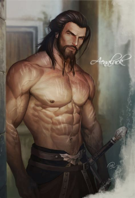 manhood the bare reality new character long hair change by aenaluck on