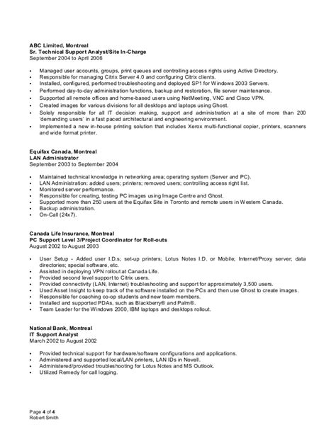 windows system administration sample resume 2 sample system admin