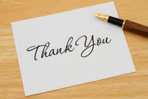 4 tips for writing thank you notes after an