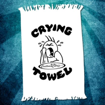crying towel temporarily sold out | customrcwraps.com