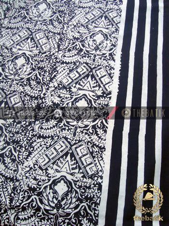 Kain Katun Kotak Hitam Coksu jual kain batik bahan baju motif cuwiri garis hitam