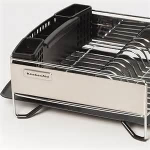 kitchenaid stainless steel panel dish rack