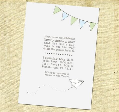 printable invitations paper 46 best images about paper airplane party on pinterest