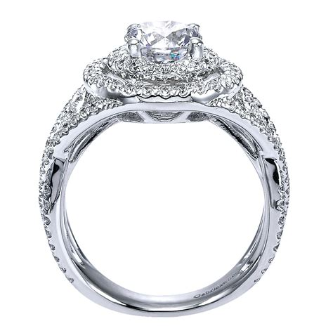 gabriel co engagement rings halo engagement ring 0 69ct