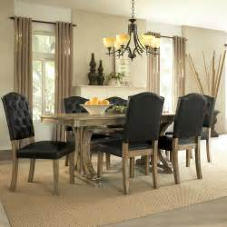 rustic 5 piece living dining room table chair euro casual rustic oak dining room set 2516nc 48 homelegance