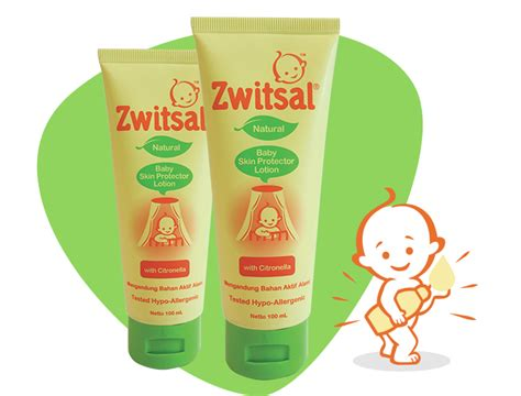 Zwitsal Milk Bath Bar baby minyak telon