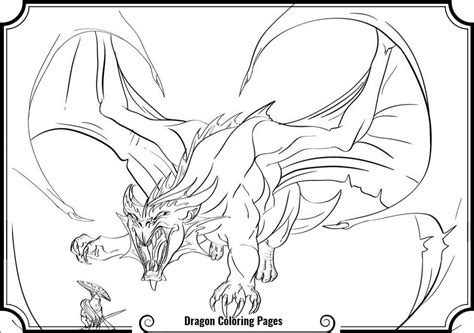 scary dragon coloring pages print freecoloring4u com