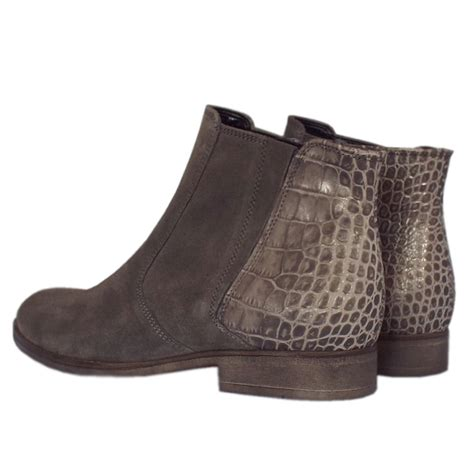 gabor winter boots wallaby suede ankle boots