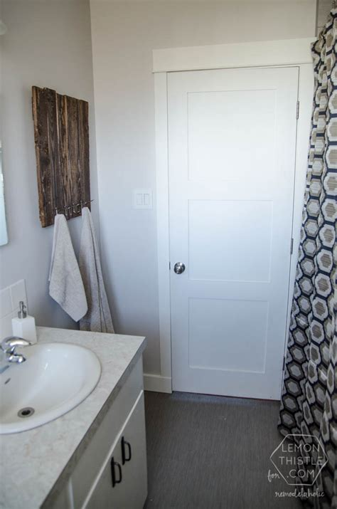 renovating a bathroom diy remodelaholic diy bathroom remodel on a budget and