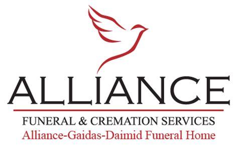 alliance funeral cremation services alliance gaidas