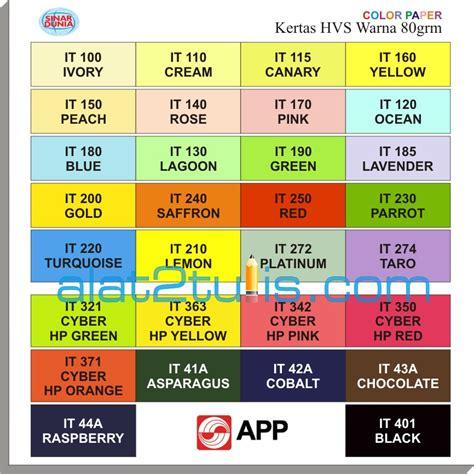 Sinar Dunia Sidu Kertas Hvs Warna Biru A4 70 Gsm 210 X 297 Mm jual hvs warna 80grm kertas a4 20 lembar pak