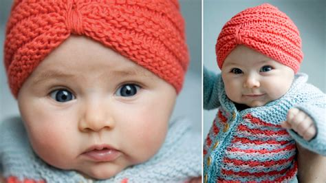 knitted turban pattern free tobecontinued free pattern crochet baby turban
