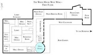 Oval Office Layout white house west wing 1st floor with the oval office highlighted png