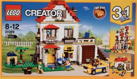 Lego Creator 3in1 31049 Spin Helicopter Promo lego creator modular family villa set review pictures lego 31069