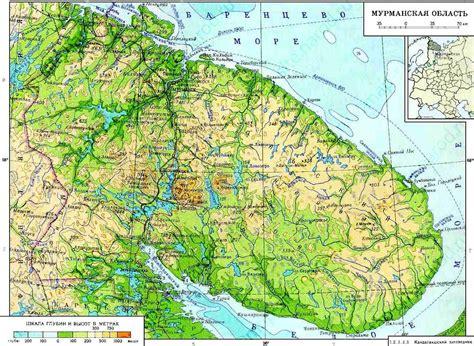 maps murmansk russia maps of murmansk oblast
