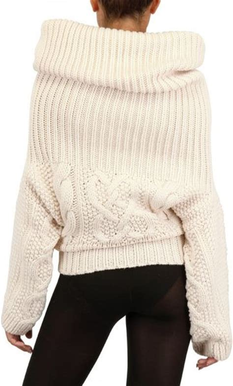 white cable knit sweater dress jean braganza cable wool knit sweater dress in