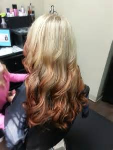 Pomeroy Home Decor reverse ombre blond to red but shorter hair pinterest