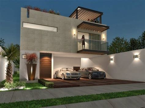 casa minimalista imagenes hermosa fachada minimalista con terraza fachada loft