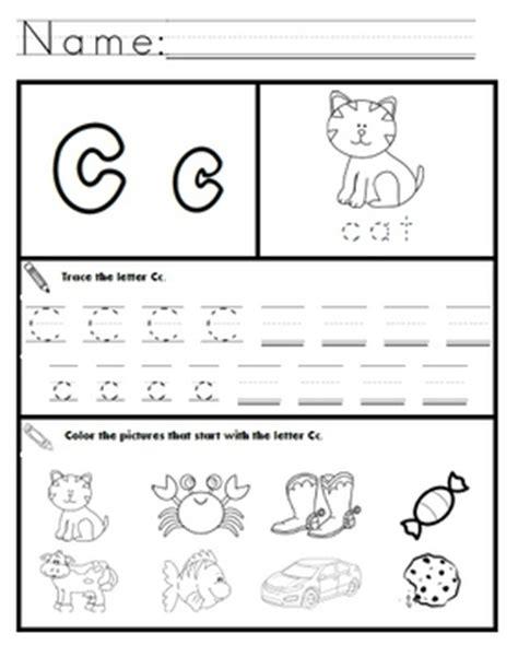 letter c worksheets letter c worksheets by kindergarten swag teachers pay 1357