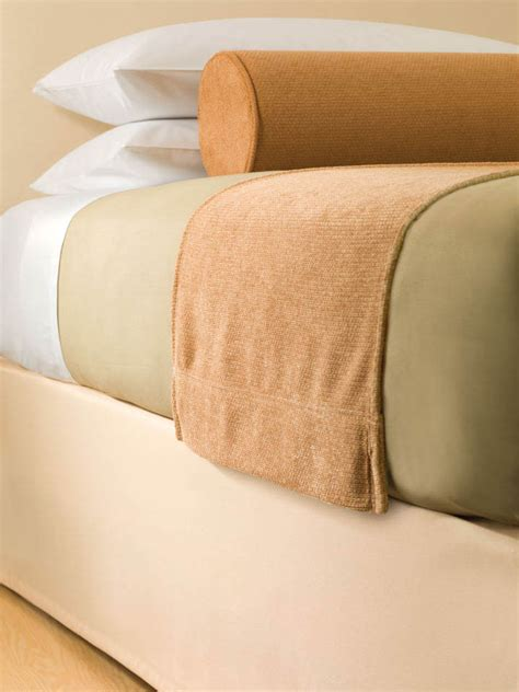 bed scarves and matching pillows reinvest consultants top of bed hospitality standard textile