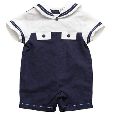 Prewalker Sailor Prepet Navy Berkualitas baby boys navy blue white cotton sailor bavy clothes fashionista s