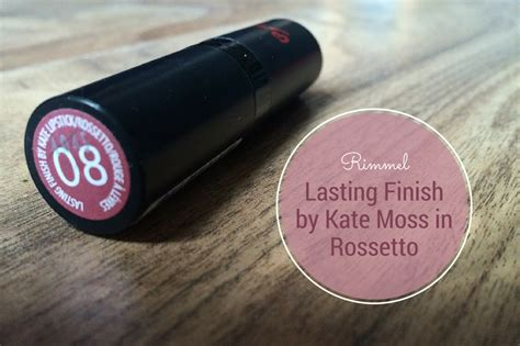 Forget Powder Kate Moss Turns To Wax by Rimmel Lasting Finish Kate Moss Lipstick In Rossetto