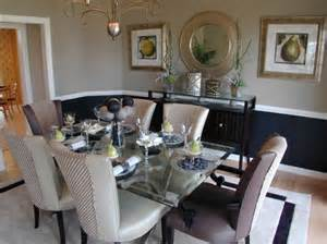 two tone dining room paint paint dipped walls a colorful trend in interior d 233 cor