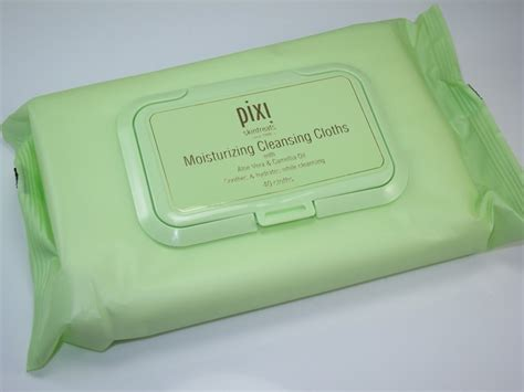 Pixy Moisturizer pixi moisturizing cleansing cloths review musings of a muse