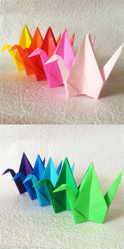 Origami Special - top 25 ideas about origami cranes senbazuru on