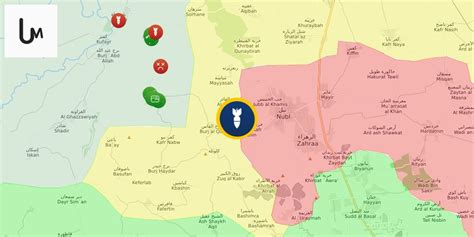 Syria Zehra turkish artillery is pounding the government targets near nubl zehra map of syrian civil