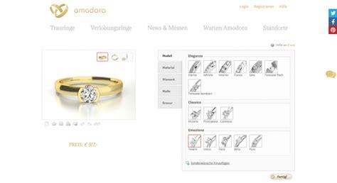 Verlobungsring Konfigurieren by Amodoro Verlobungsring Konfigurator Testbericht