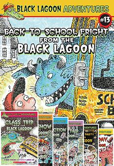 the book report from the black lagoon activities black lagoon adventures chapter book pack books 1 13 by