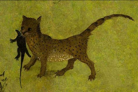 trittico giardino delle delizie gatti e arte il gatto mistico