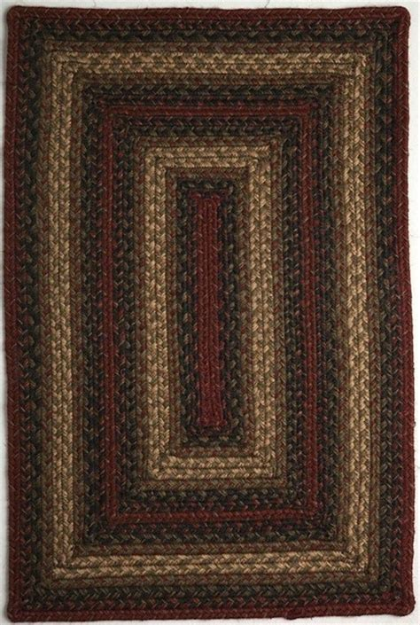 Braided Vancouver Oval 6 0 Quot X9 Oval Rust Black Area Rug Area Rugs Vancouver