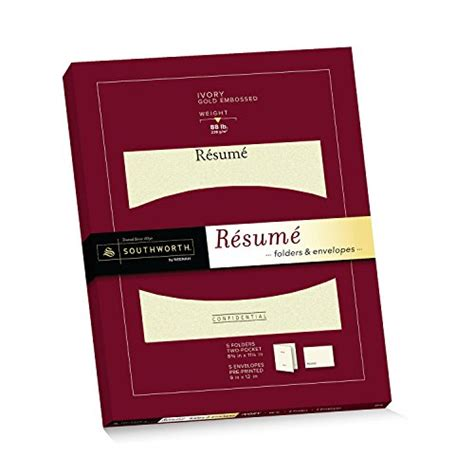 resume paper and envelopes southworth exceptional resume folders envelopes packet