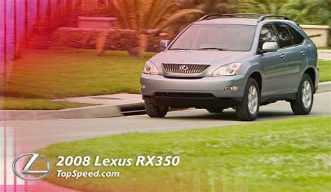 2008 Lexus Rx350 Review by 2008 Lexus Rx350 Review Review Top Speed