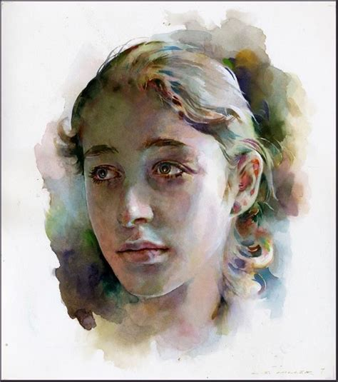 best artist best watercolor portraits by artists