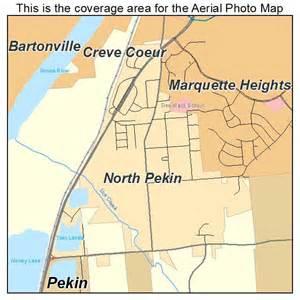 Pekin Illinois Map by Aerial Photography Map Of North Pekin Il Illinois